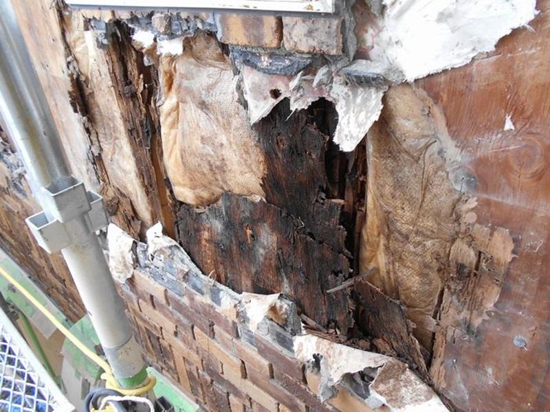 屋根リフォーム 雨漏りの二次災害